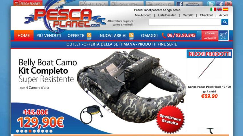 Negozio Pesca Online Firenze